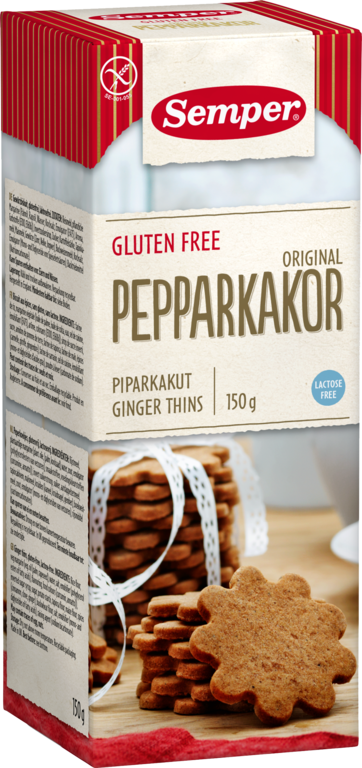 Pepparkakor Ginger Cookies 6x150g